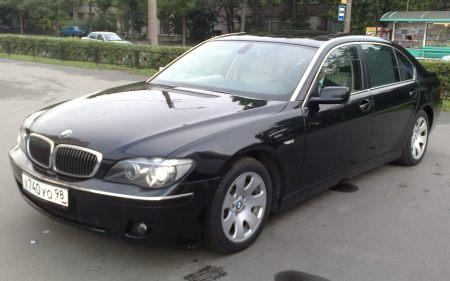 Прокат BMW 750 Long / БМВ 750 в Санкт-Петербурге, аренда ...