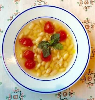 Recipe of Cannellini Summer Soup