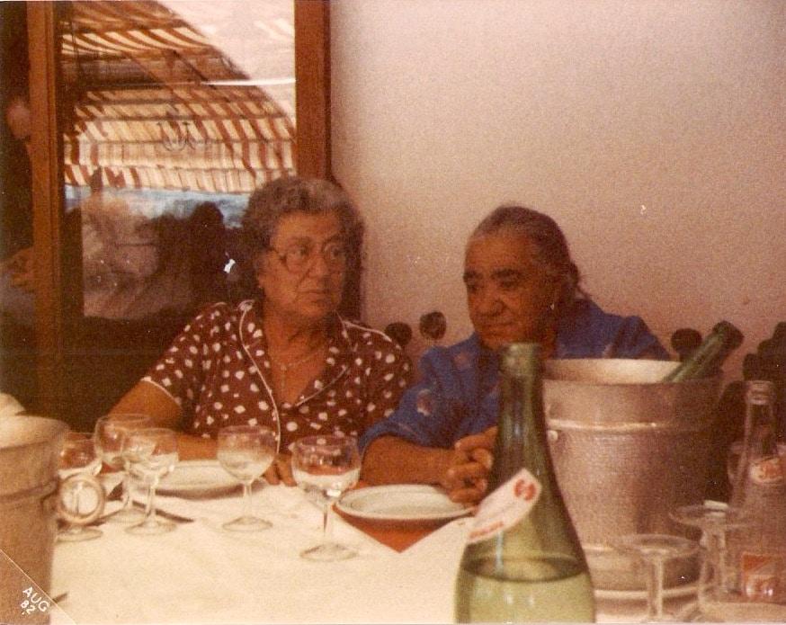 Nonna Concetta and Zi'Adelina, Napoli, 1983