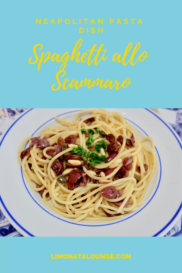 Here\'s a recipe for spaghetti allo scammaro, a neapolitan recipe that goes back to the 19th century. Monks would make this dish during the period of Lent or any other time they wanted to eat light.