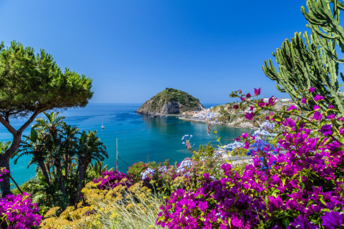 Ischia beach holiday