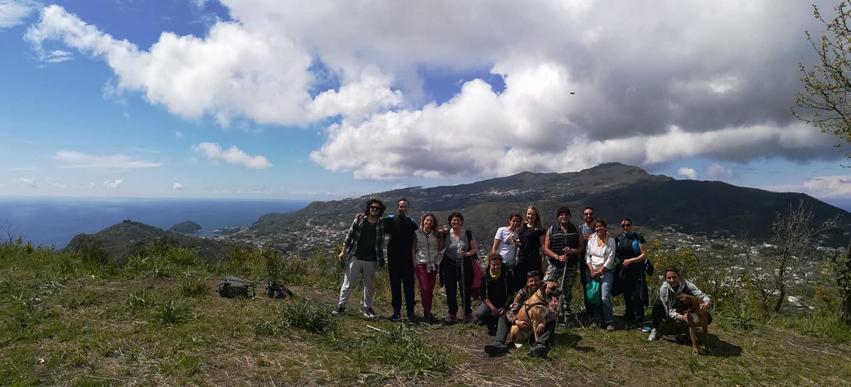 hiking in Ischia