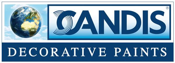 Logo Candis, azienda di pitture decorative