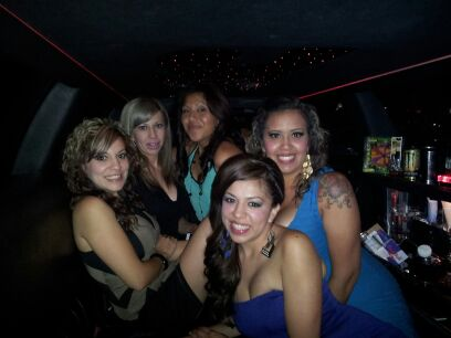 San Bernardino Limousine for Bachelorette Party in Hollywood