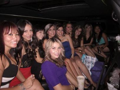 Bachelorette Party San Bernardino Limos