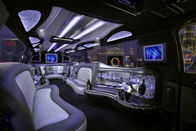 Orange County SUV Limo Interior Image
