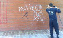 Limpiezas de graffitis y protección anti-graffitis
