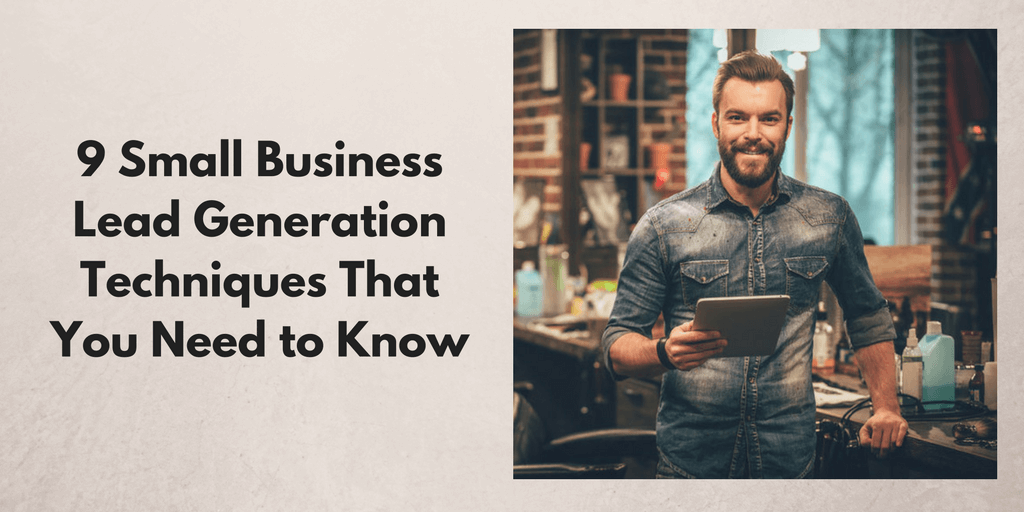 Small Business Lead Generation Techniques