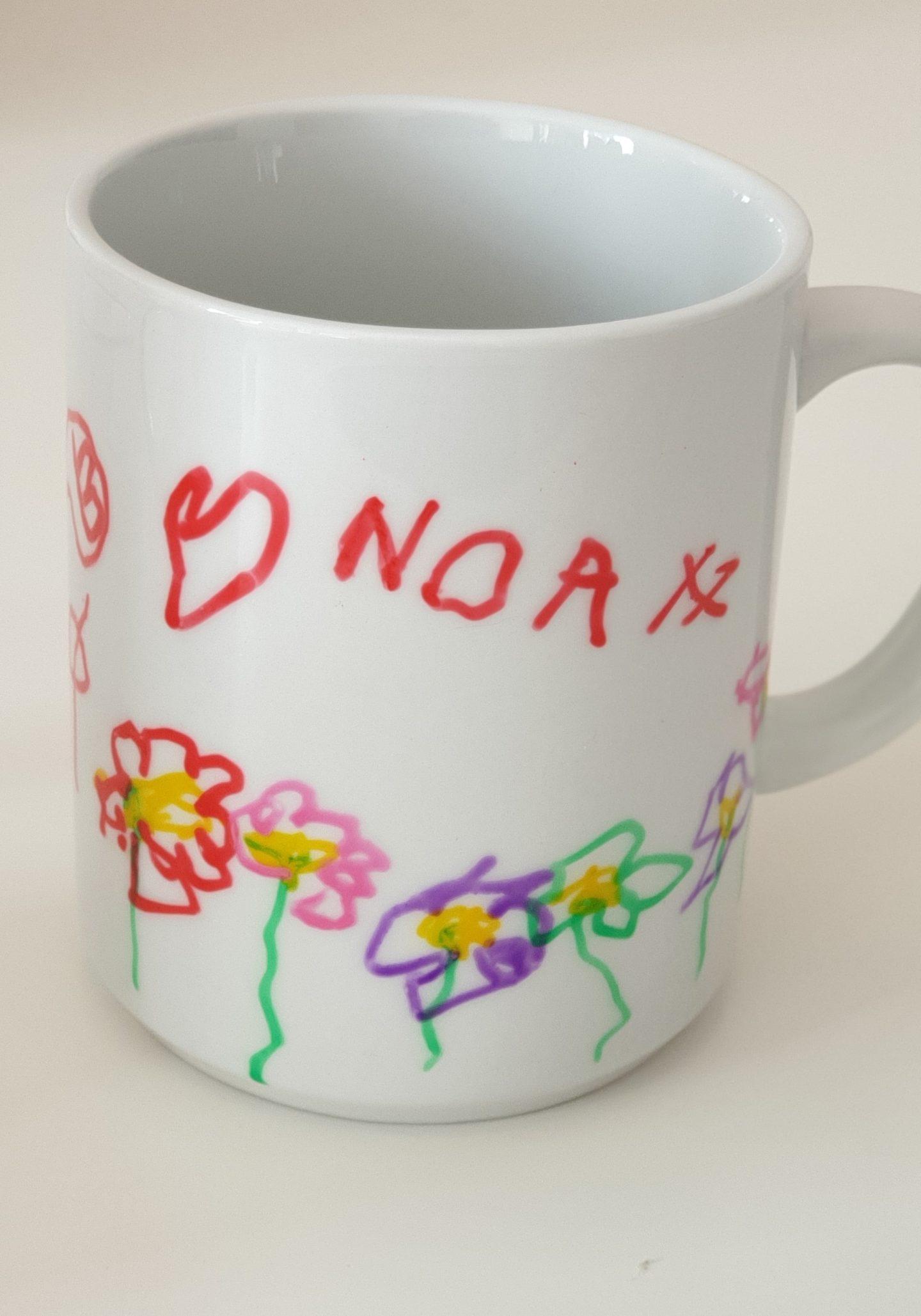 Mug personnalisé - diy kids