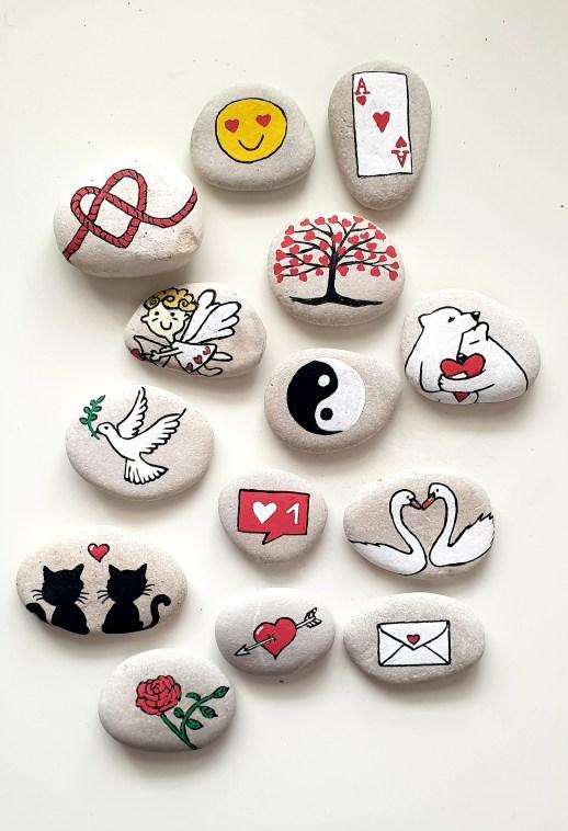 Les galets d'amour - Collection de galets - Cadeaux personnalisés