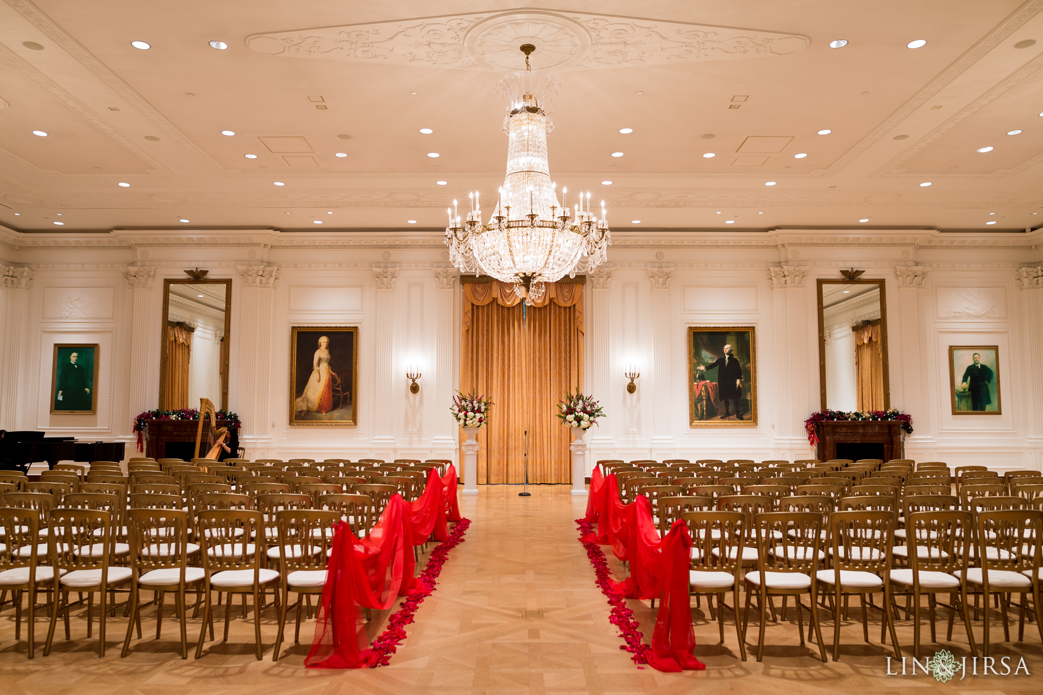 Nixon Presidential Library Wedding Vina Amp Anthony