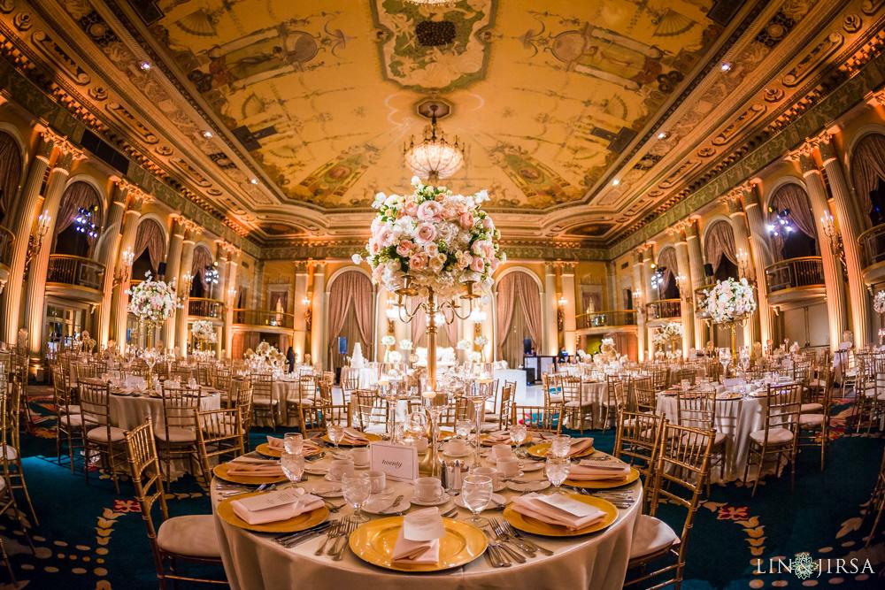 Millennium Biltmore Hotel Wedding Reception Rashida Amp Naeem