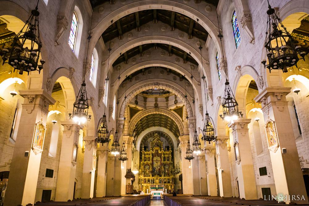 St Vincent Catholic Church Los Angeles Wedding Norma
