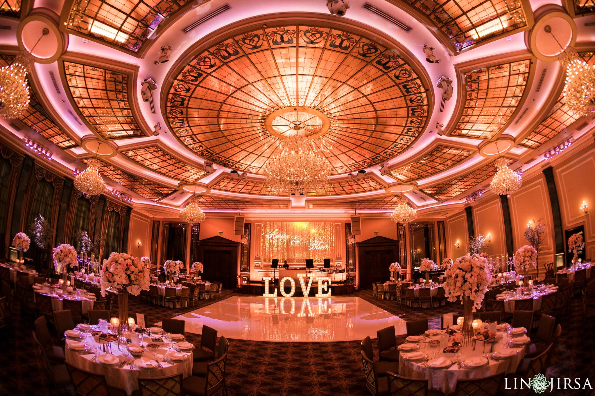 Taglyan Cultural Complex Los Angeles Wedding Bloor Amp Amir