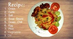 Thai Style Malay Fried Rice with Dried Shrimp (Nasi Goreng Malay) #2018
