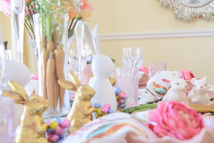 Twenty Four Carrot Gold Easter Table!