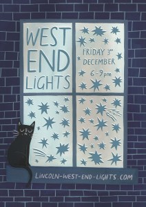 Lincoln West End Light Poster