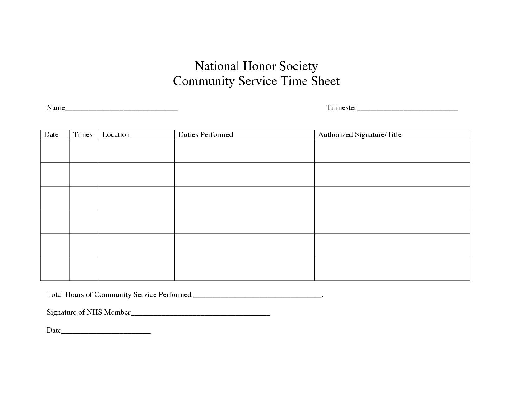 National Honor Society Lincoln Honor Society