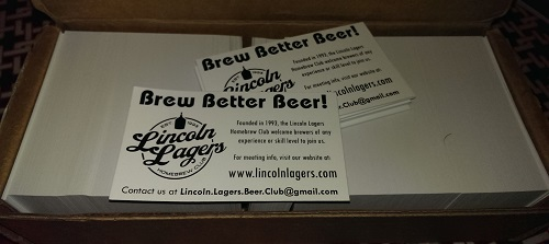Lagers Biz Cards reprint