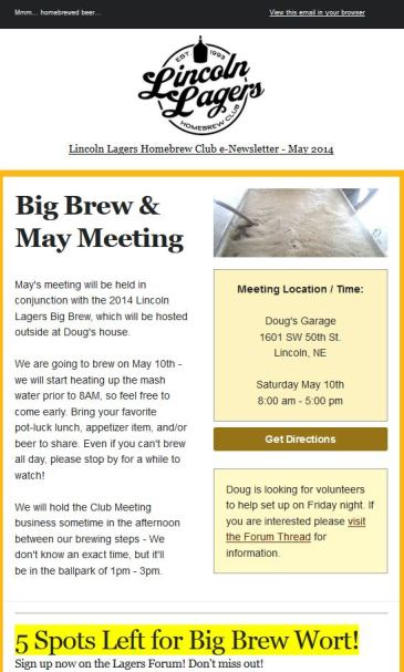 May2014 Lagers News