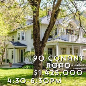 90 Conant Road Lincoln open house