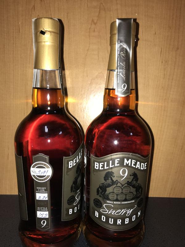 Belle Meade Bourbon. Sherry Cask Finished