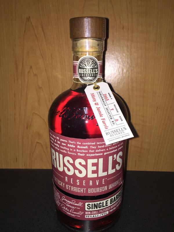 Russell's Reserve Kentucky Straight Bourbon Whiskey