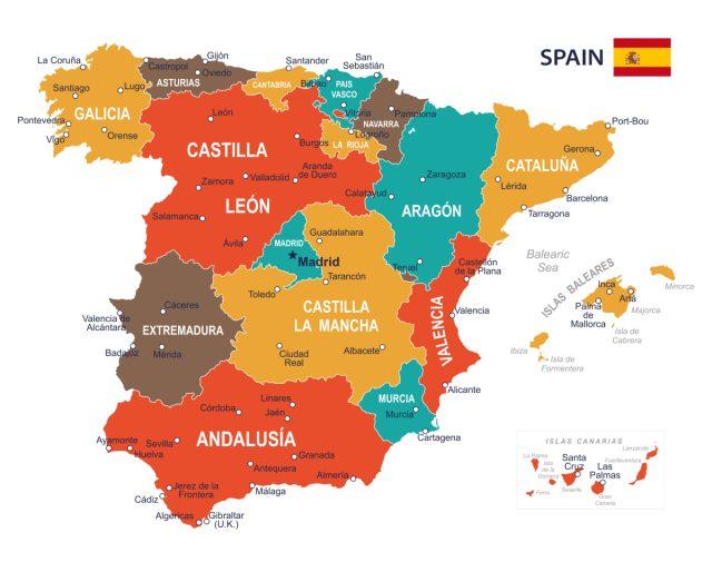 Malaga Spagna Cartina.La Spagna Politica E In Crisi Ma L Economia Va L Incontro
