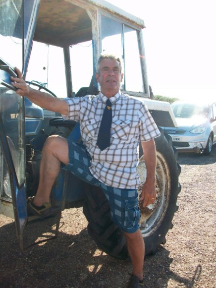 New uniform for tractor drivers...?