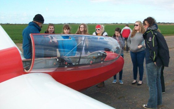 1st Mablethorpe Rangers enjoying a flying evening.