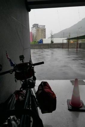 A bit damp