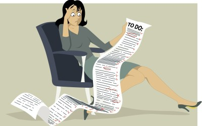 Do You Obsess Over That Long List of Projects to Complete?