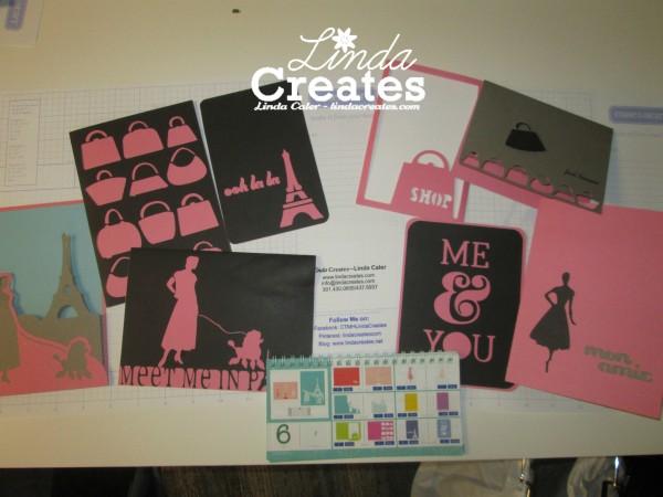 Cricut Artfully Sent One Key Linda Creates ~ Linda Caler www.lindacreates.com