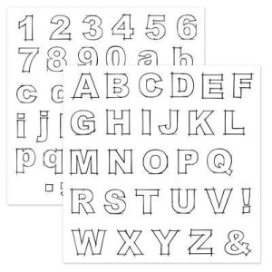 E1027 - Framework Alphabet www.lindacreates.ctmh.com