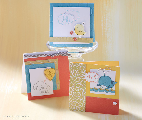 Hostess Reward Stamp Set Close To My Heart Linda Creates ~ Linda Caler www.lindacreates.com