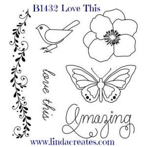 My Crush Bluebird B1342 Love This Summer Crush Close to My Heart Linda Creates ~ Linda Caler www.lindacreates.com