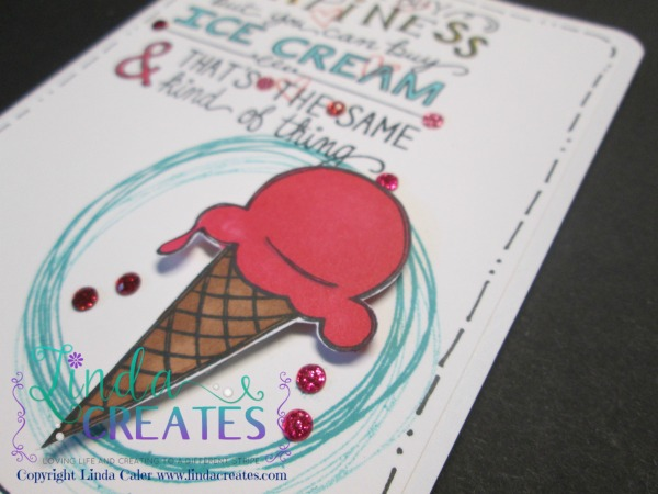 S1506 Ice Cream Dream Card 2  www.lindacreates.com