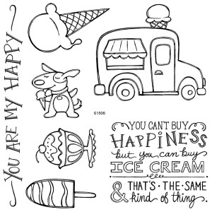 S1506 Ice Cream Dreams Linda Creates ~ Linda Caler www.lindacreates.com