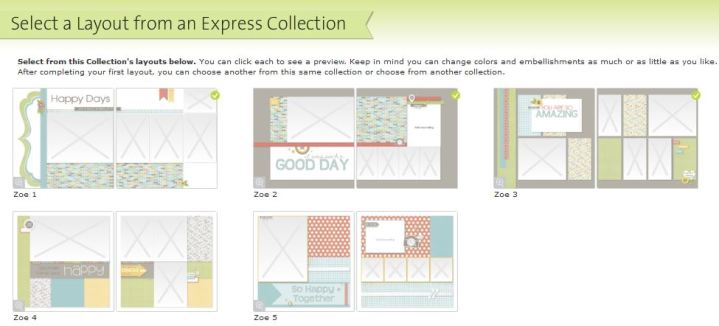 Zoe Express Collection