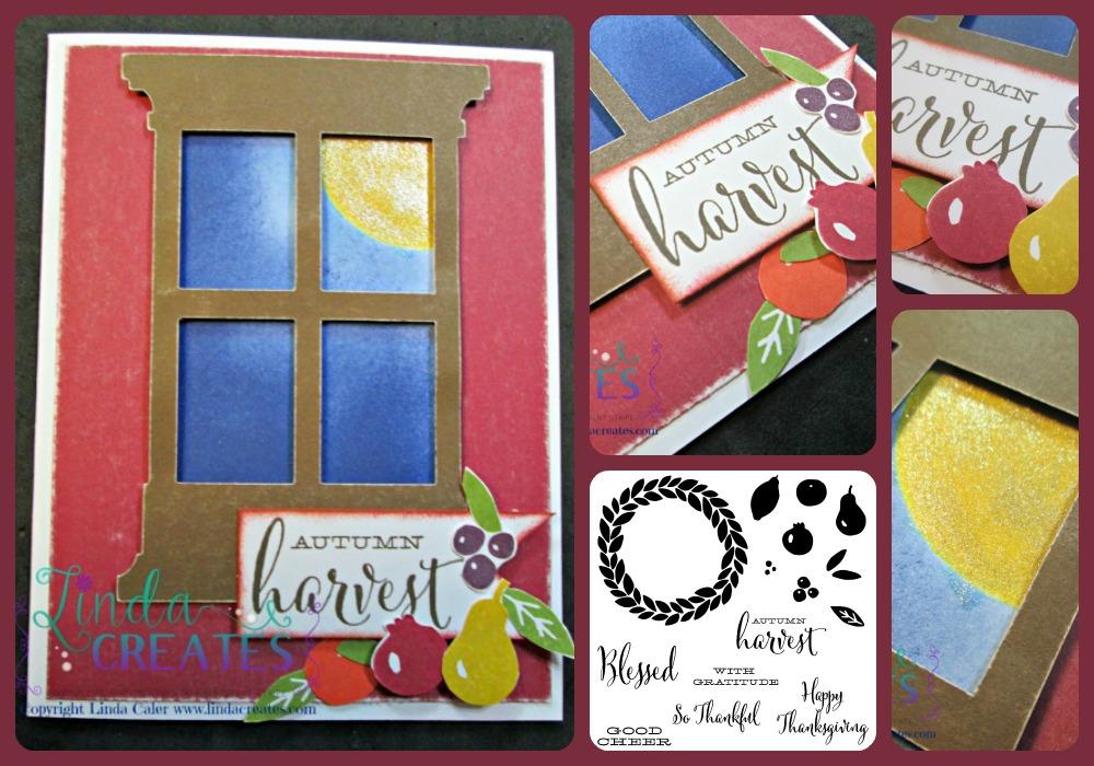 Autum Harvest Collage