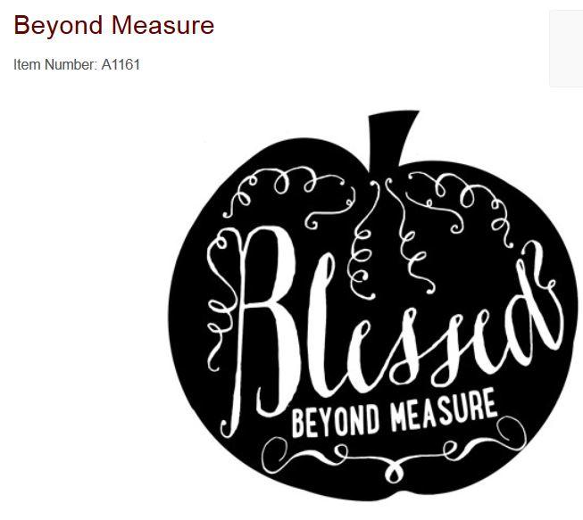 a1161 Beyond Measure