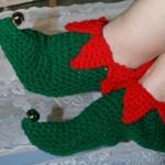 Keeping The Holiday Spirit In My Shoes Linda Dean Crochetlinda Dean Crochet