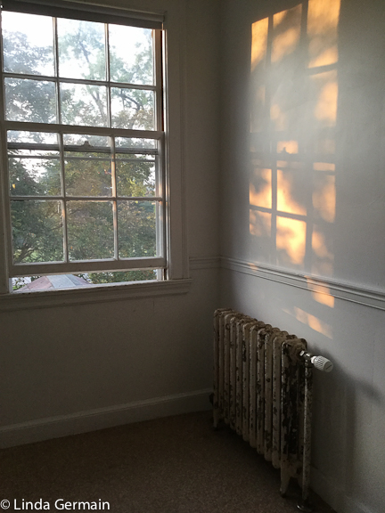 morning sun at art new england