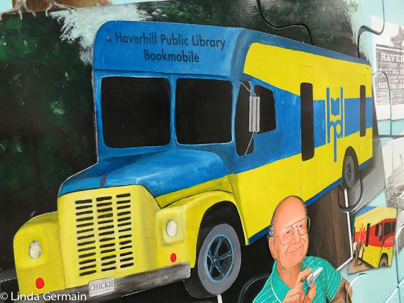 Jason Asselin Mural at Haverhill Public Library