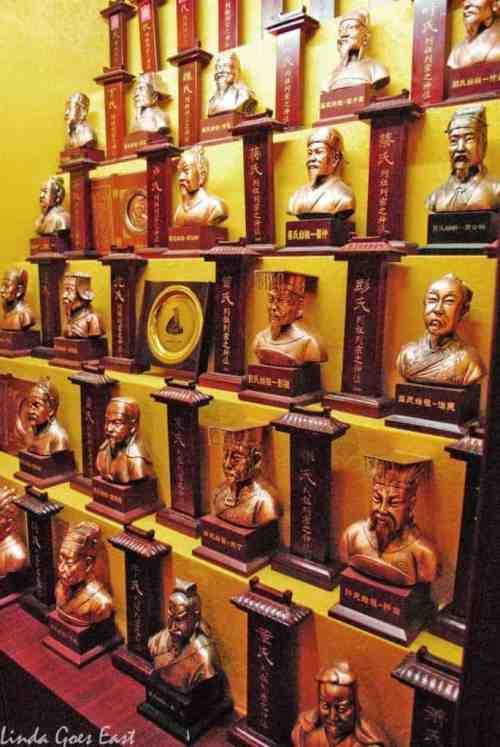 Banpo Museum Linda Goes East