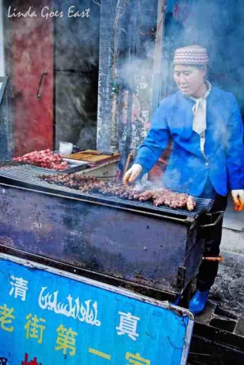 Muslim food and souvenir market