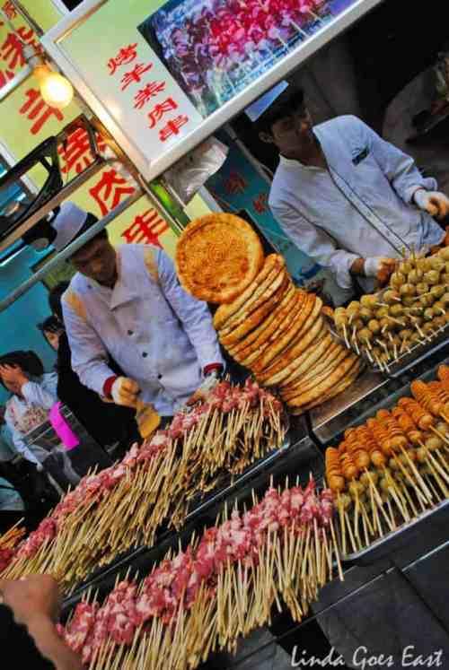 Muslim Quarter Xi'an Linda Goes East