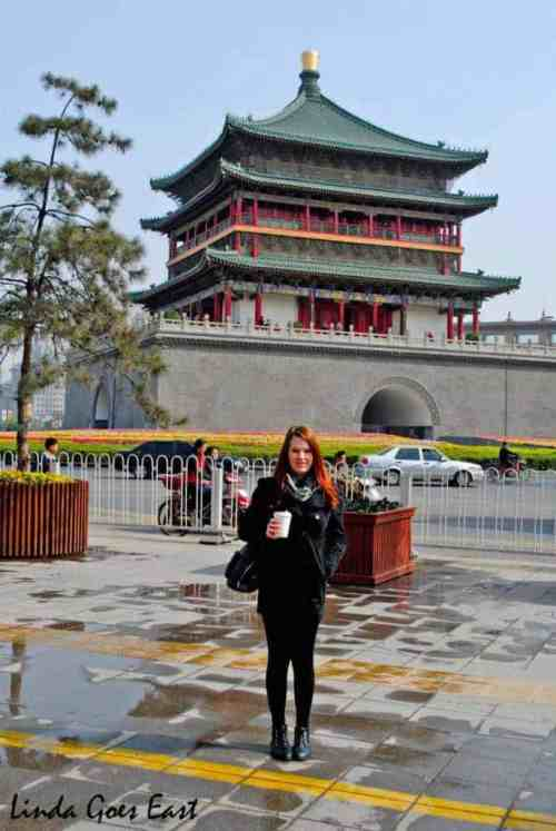 Xi'an Drum Tower | Linda Goes East