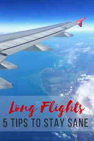 Long-Distance Flights- 5 Tips To Stay Sane