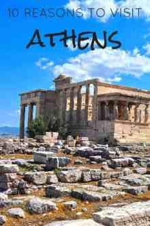 10 Reasons to Visit Athens | Linda Goes East